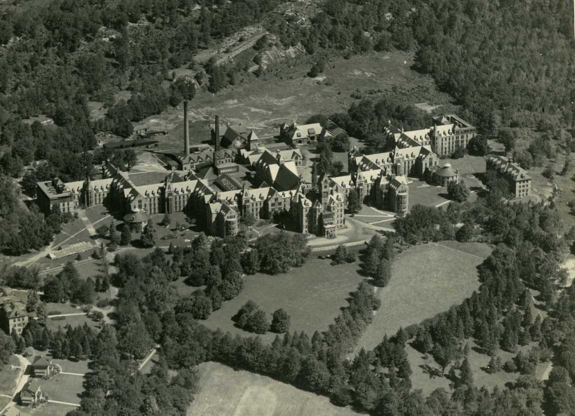 Worcester State Aerial