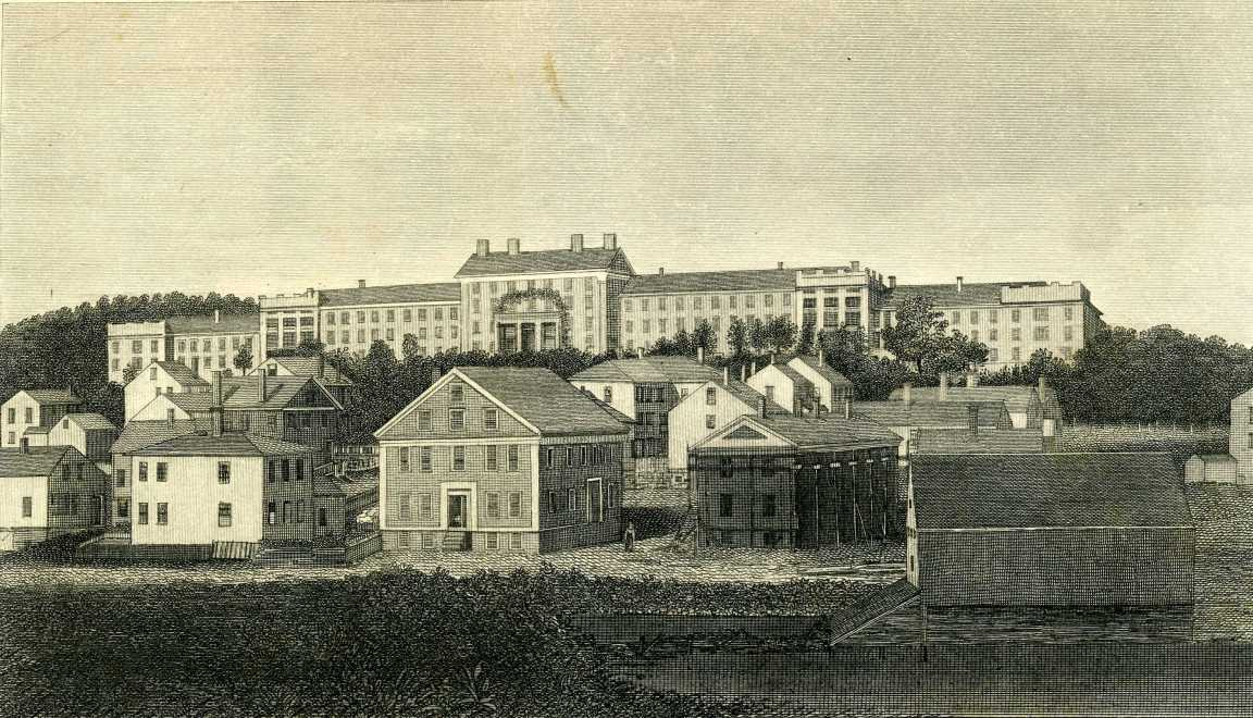 Worcester State Hospital (A. C. Beaman Print)